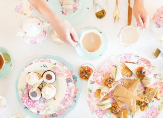 Tea party at Sorelle and Co.