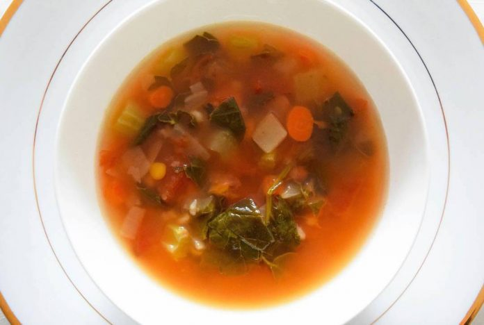 Vegetable Soup Bowl