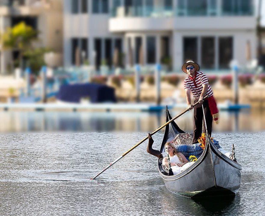 Gondola in Coronado Cays