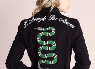 Luxury Snake Jacket Gucci