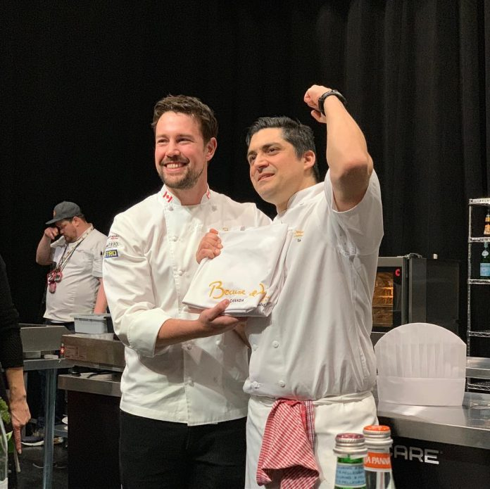 Samuel Sirois wins Bocuse d'Or Canada