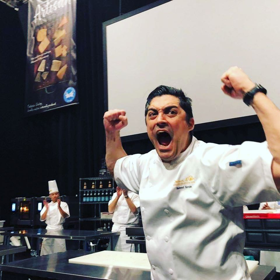 The moment Chef Sirois won