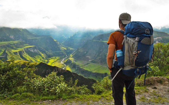 Overseeing Valley in Ecuador