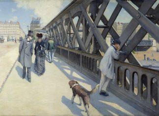 Gustav Caillebotte - Pont de L'Europe