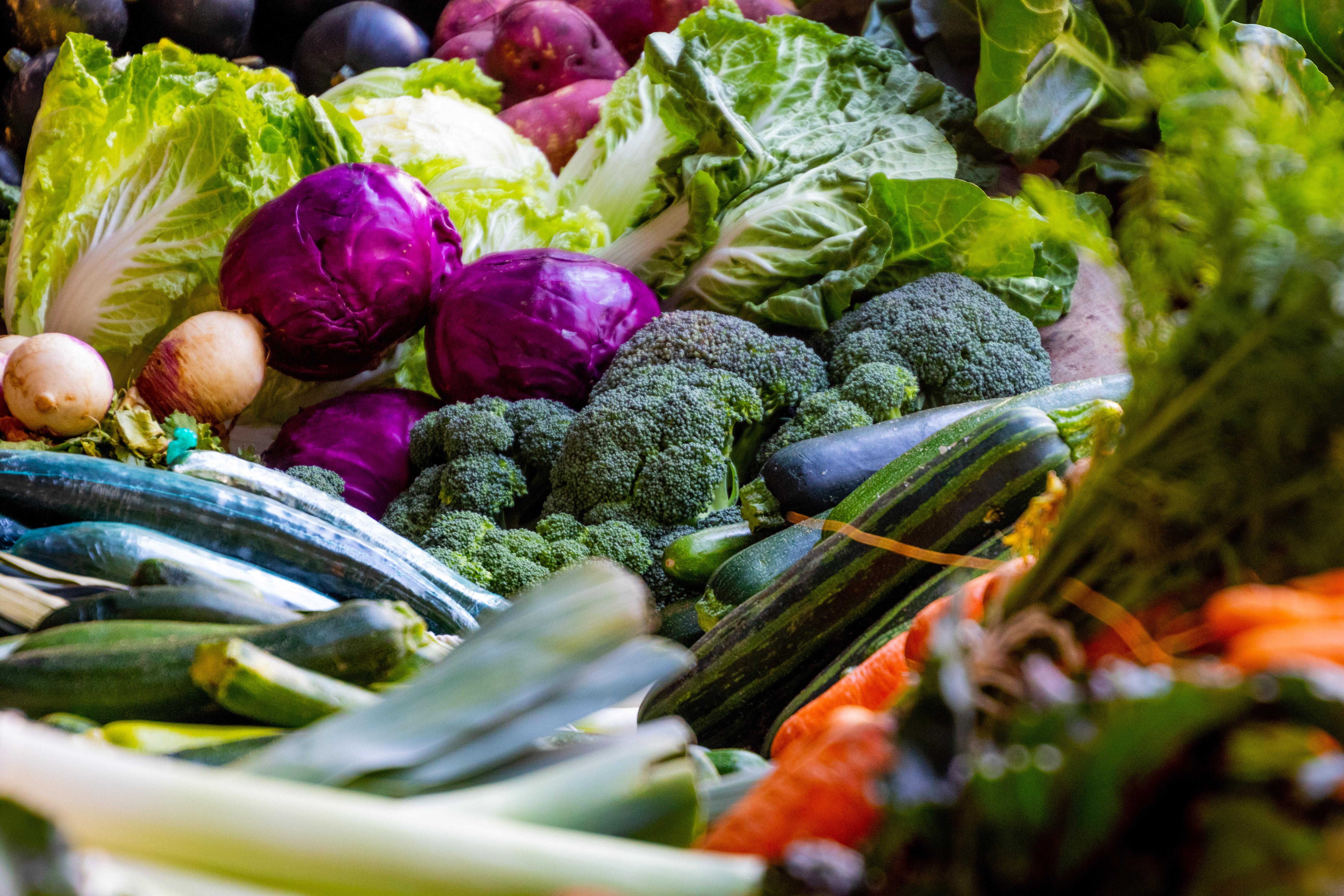 Vegetables. Source: Pexels.