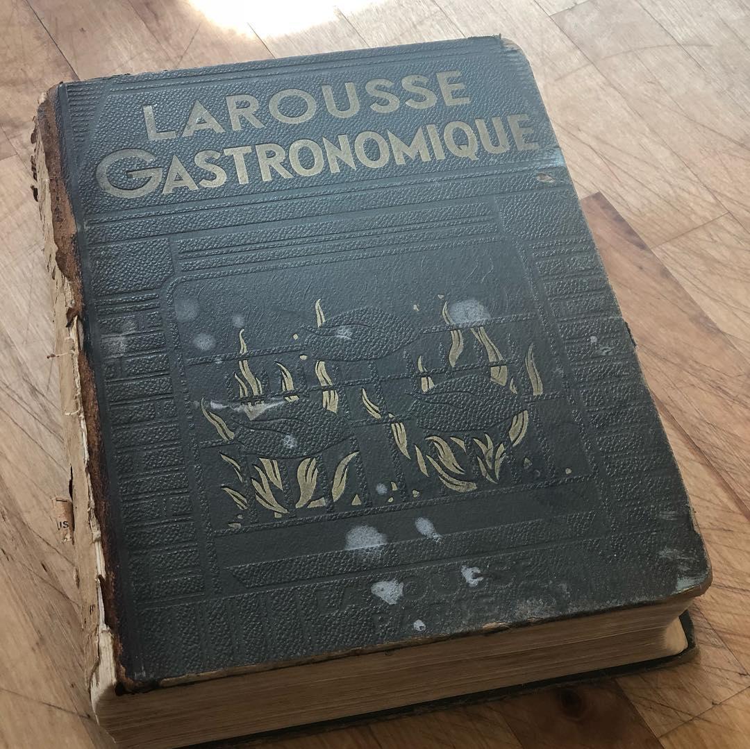 1938 Edition of the Larousse Gastronomique