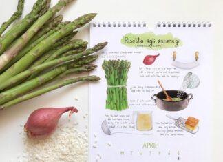 Asparagus Risotto Calendar