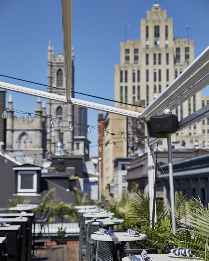 Rooftop Patios Montreal