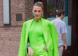 Blake Lively in Neon