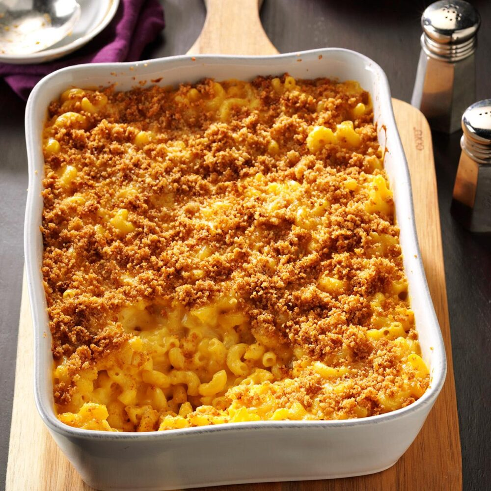 Oven Baked Mac and Cheese