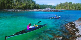 Kayaking BC Nature