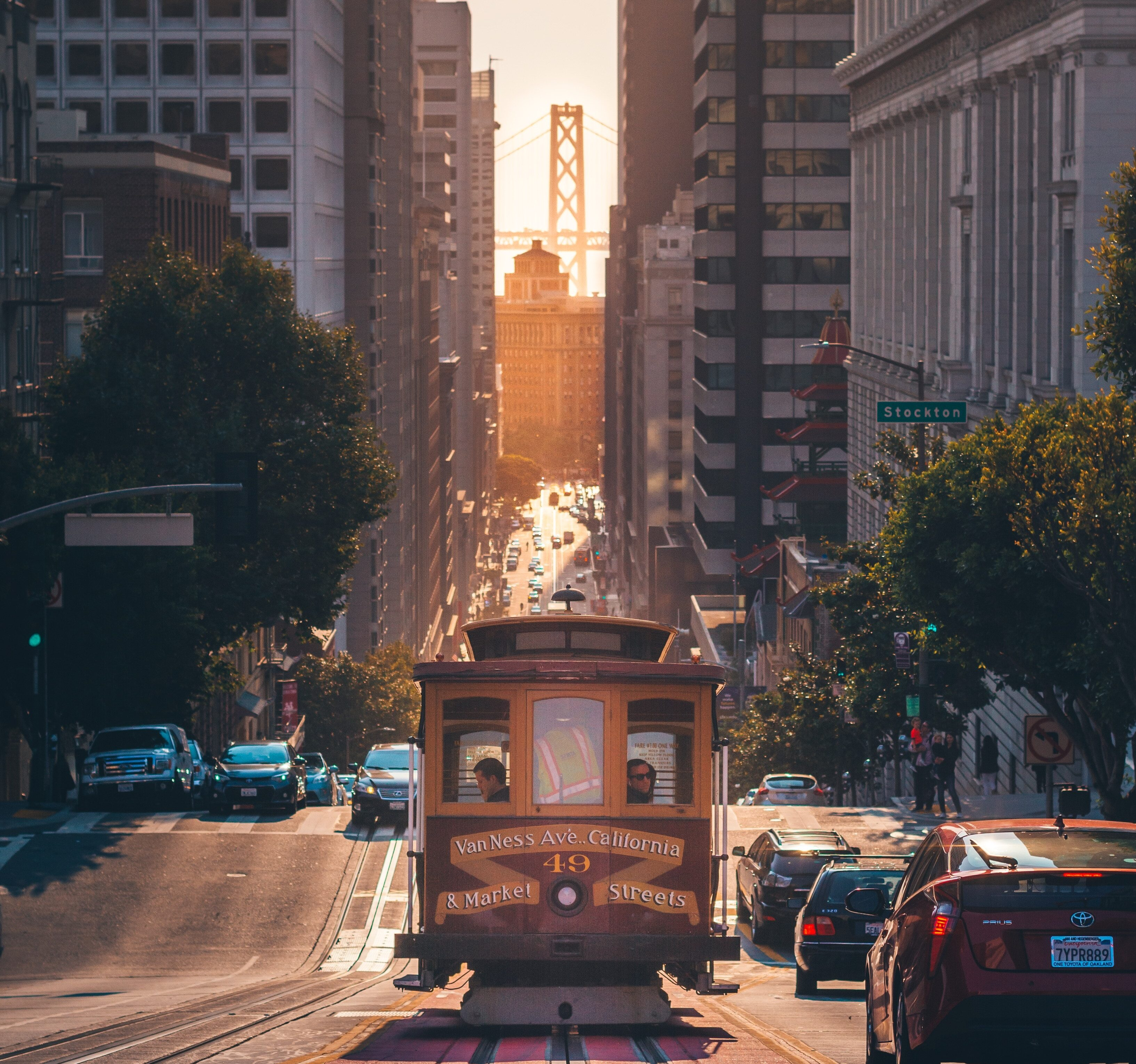 streetcar downtown SF