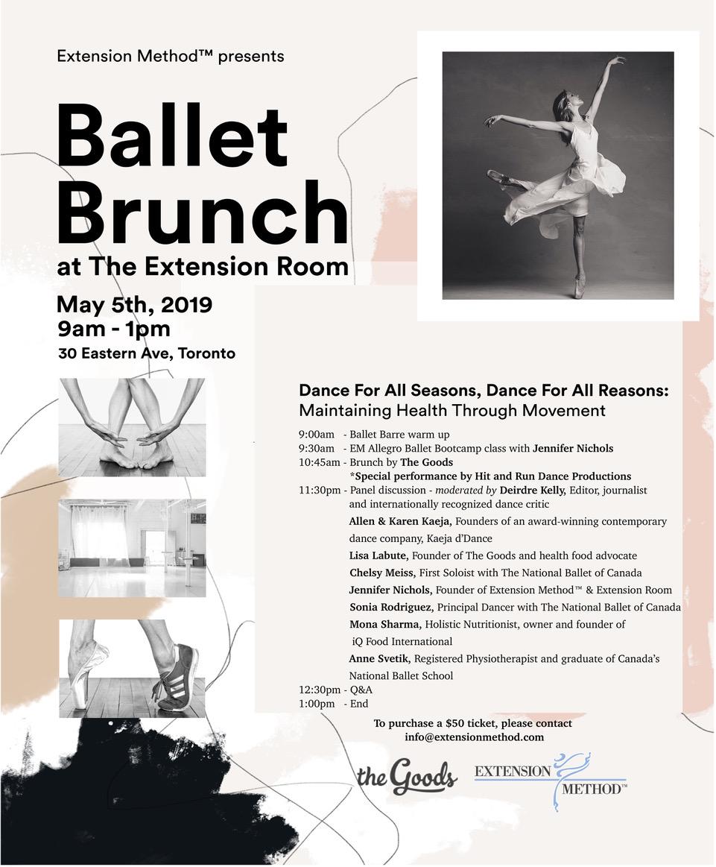 Ballet Brunch