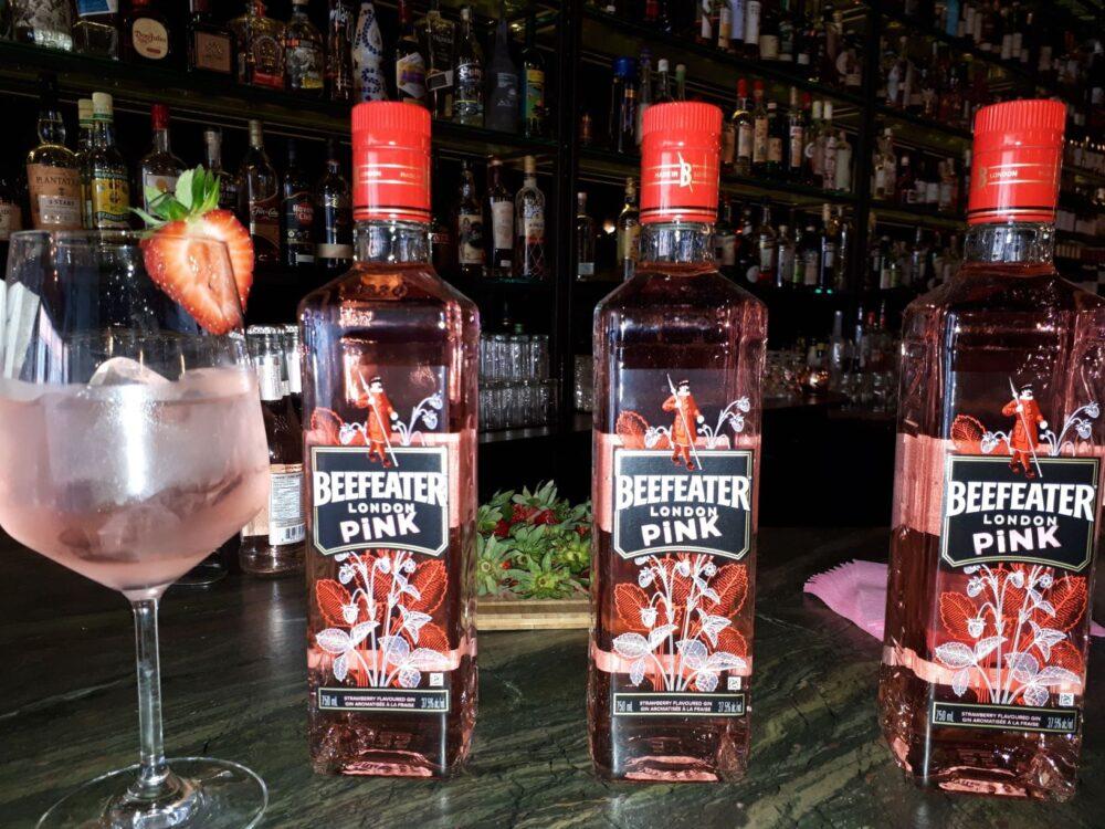 Beefeater Pink Gin Bottles