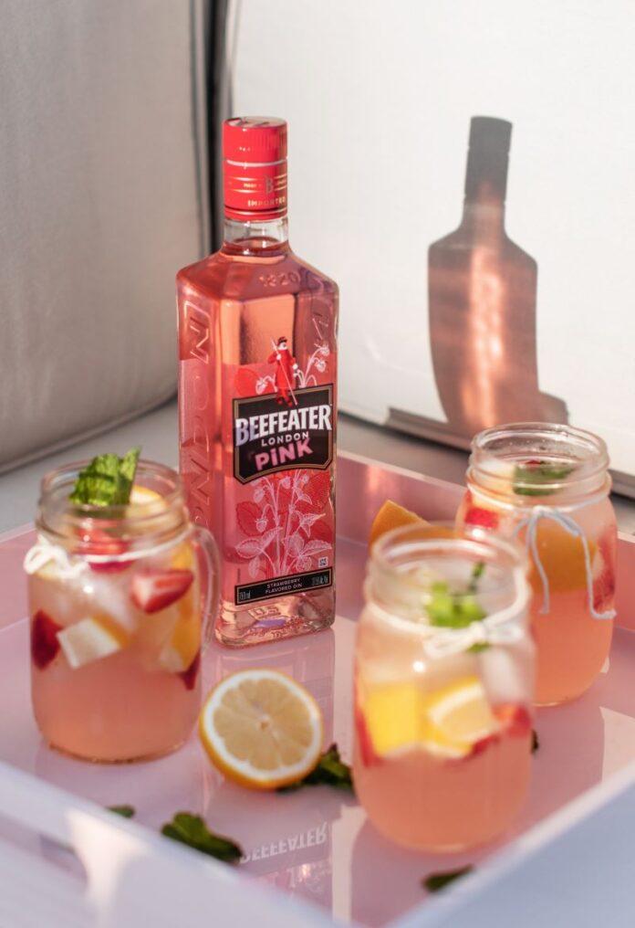 Beefeater Pink Strawberry Lemonade