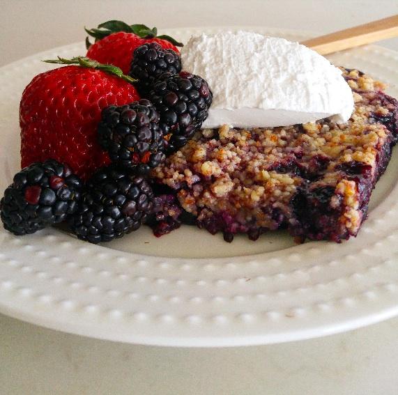 celiac-disease-triple-berry-almond-crisp
