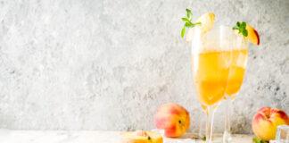 Frozen Peach Bellini