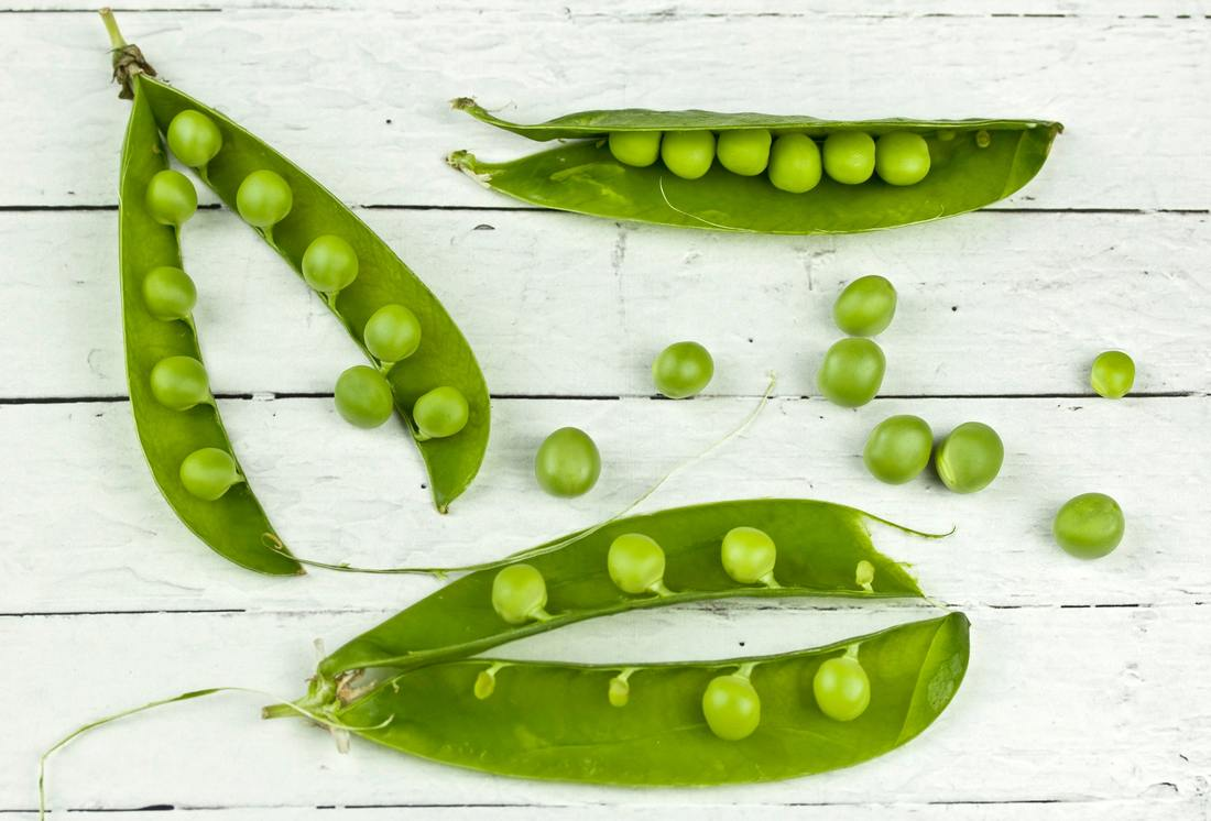 Peas. Source Pexels.
