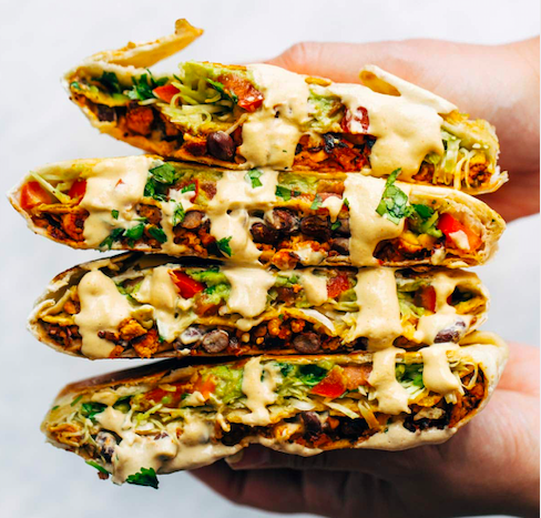vegan-crunchwrap
