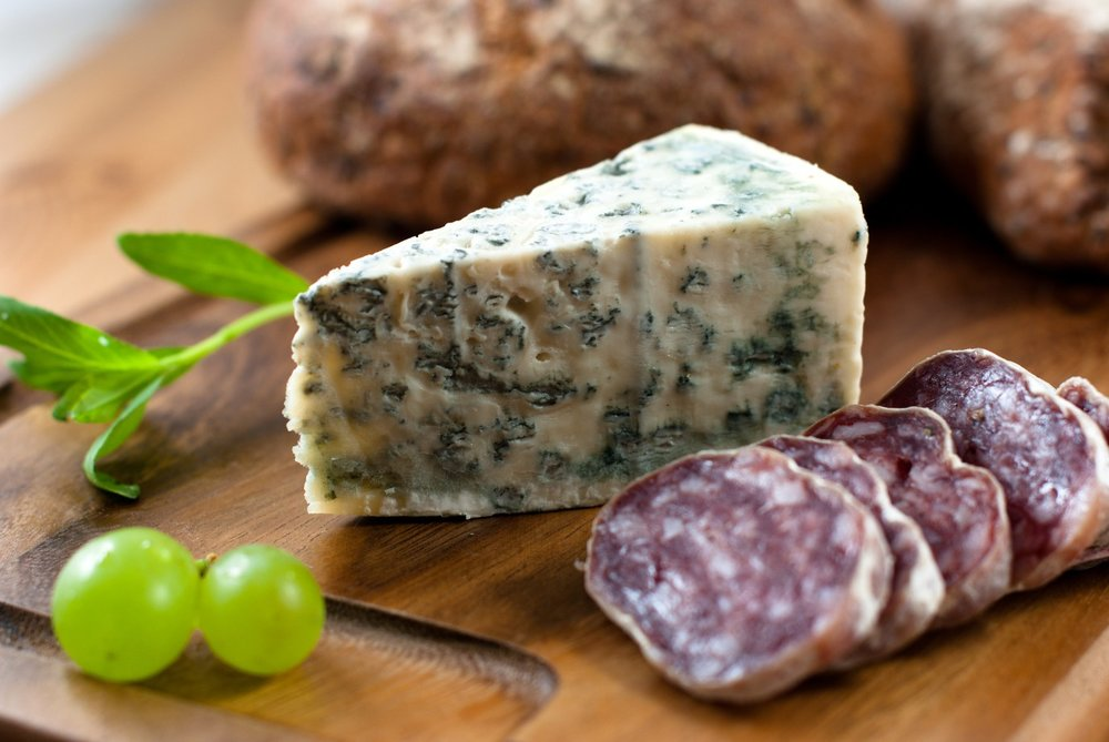 Mouldy Cheese and Salami