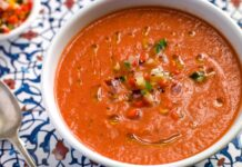 Bowl of Gazpacho