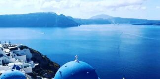 Instrammable City Santorini