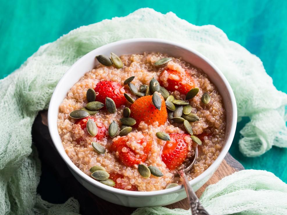 Sweet Quinoa Porridge to Start Your Day