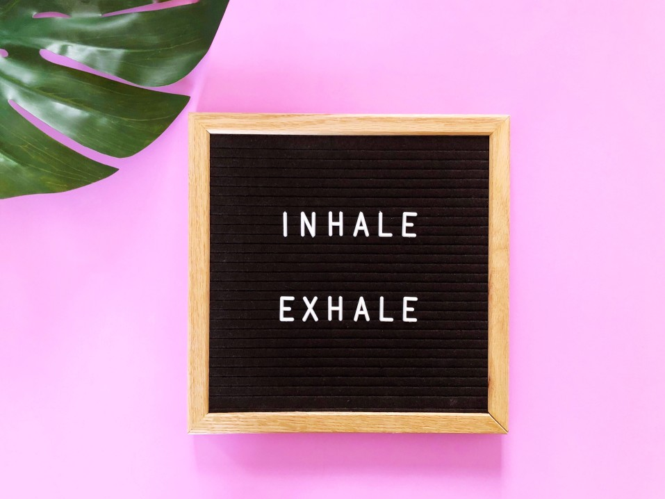Let's Reduce our Stress Levels. Learn to Breathe Like a Yogi