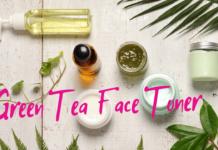 green tea face tomer
